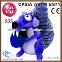 20 cm plush squirrel toys soft toy for sale