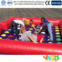 Adult Inflatable Twister Game For Sale Outdoor Sport Games Family Games