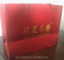 Wholesale made in china craft paper bag gift bag fashion wine bag