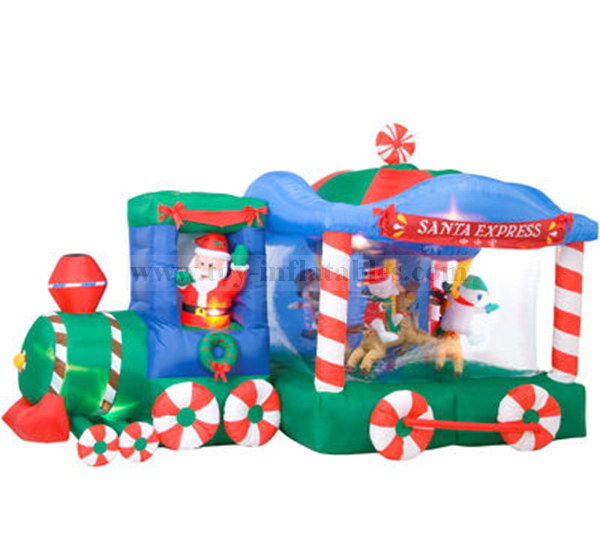 Best-selling cheap mini inflatable christmas decoration