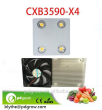 COB LED Grow Light Panel Full Spectrum 400W with 4pcs CXB3590-X4 or CXA3070 3500K with Meanwell drivers
