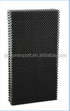 plastic cooling pad water system Wet cool cell pad