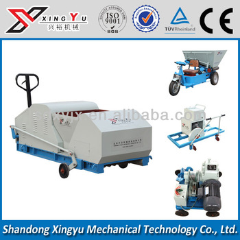 first class HQJ80-600 lightweight manual concrete block making machine