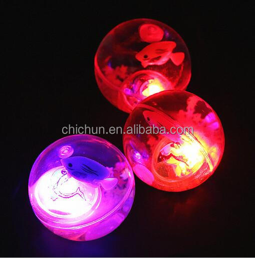 2018 new type LED Light Bouncy Ball Flashing Bouncing Ball