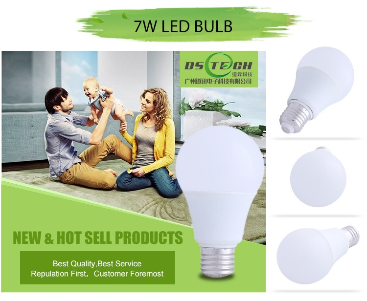 factory led e27 high quality led mini bulb lighting ra>80,led color smart light bulb 7w e27 rgb