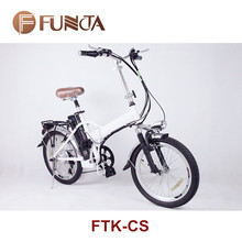 Portable folding e bike with hidden battery city electric bike
