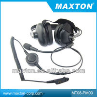 Walkie Talkie Noise Cancelling Headset For
