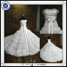 JJ0072 Real Sample Magnolia gown With Tiered Ruffles In Tulle And Lace Zuhair Murad Wedding Dresses Prices 2014