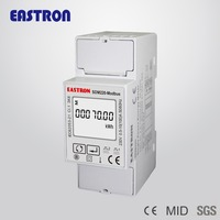 SDM220-Modbus Single Phase Energy Meter,Power Meter Analyzer, Multi-function , RS485 Modbus, Electric Sub Meter for AMR/AMI,MID