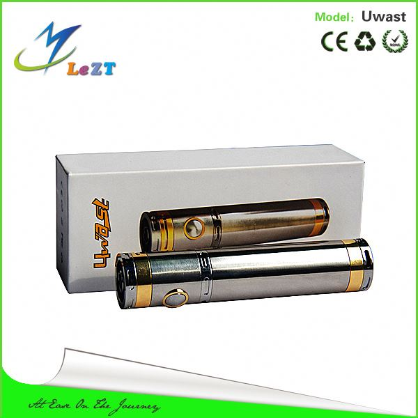uwast is a mechanical mod with perfect performance. there is 3 holes on the battery cap, explosion-proof hole with air flow