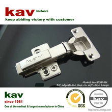 3D cam adjustable invisible wooden door hinge with hydraulic cylinder