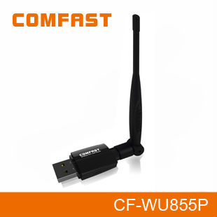 Realtek RTL8192EU 300Mbps 802.11N Wireless USB Adapter with WPS button COMFAST CF-WU855P