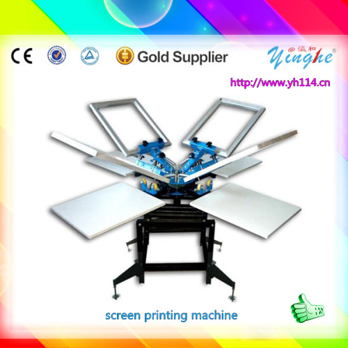 amazing speed and simple operation plastic bucket screen printing machine for sales