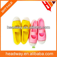 shoes shaped eraser