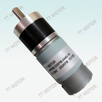GMP36-555PM 24v dc motor low rpm gear motor