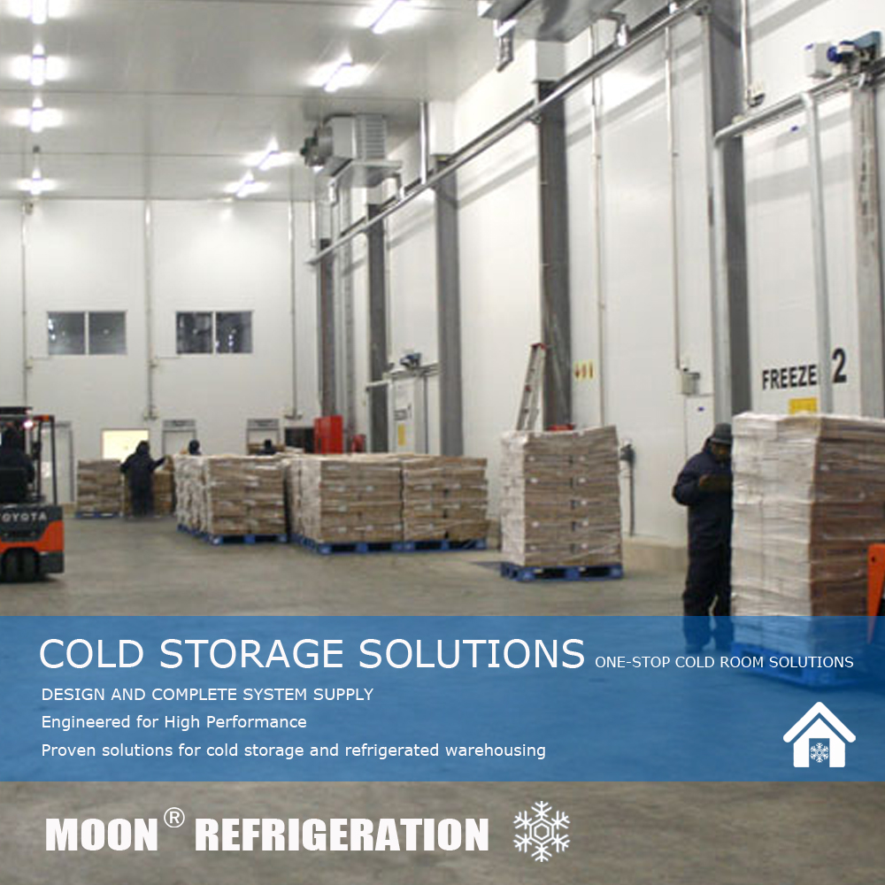 MOON CE small walk in freezer cooler unit and panels manufacturer in cold room