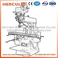 Alibaba wholesale specification for gear DRO conventional milling machine