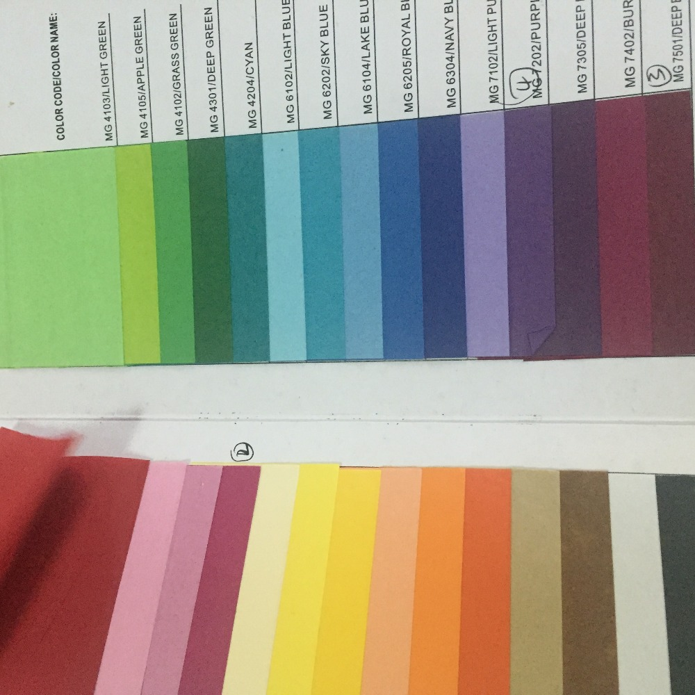 Hot woodfree paper top print copy color paper