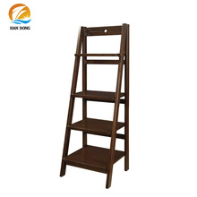 wall bookcase magazine rack stand books Wooden portable book shelf