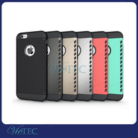 Shockproof pc+silicon two in one cell phone case for iphone samsung LG new phone
