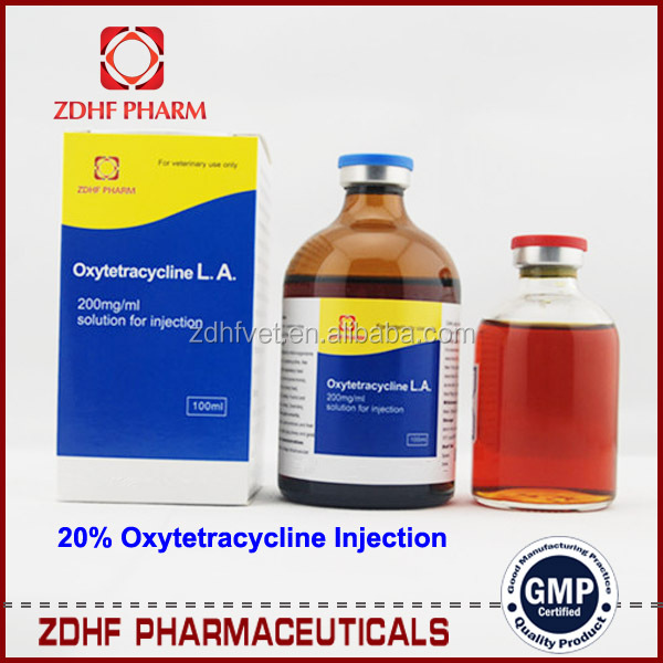 100ml 50ml 5% 20% 30% Oxytetracycline 20 La Injection For Cattle Dairy Breeds