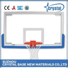 Trade Assurance Factory Tempered Glass Basketball Backboard