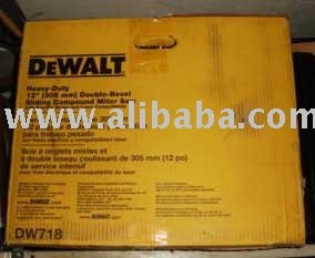 "DeWalt 12"" Beveling Sliding Compound Miter Saw DW718"