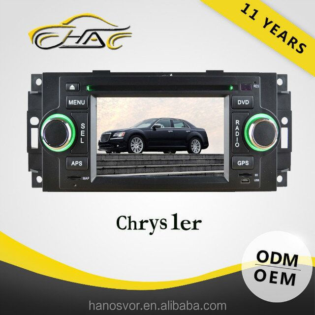 china factory gps with camera for jeep chrysler car gps navigation 5 inch