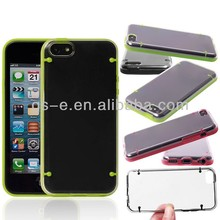 Ultra-Slim glow in the dark luminous plastic hard back case for iphone 5C