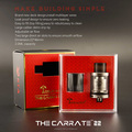 2016 Tesla the New ATomizer RTA!!!The carrate 22 RTA Used with Tesla Stealth 70W