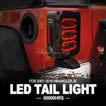 N2 Wholesale Jeep Parts China IP68 Multi-function Tail lights LED for Jeep Wrangler JK 07-16 with Lifetime Warranty