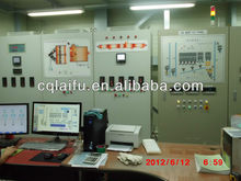 Glass furnace control cabinet