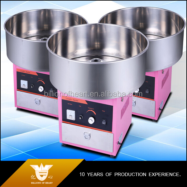 Commercial Marshmallow Making Machine, Candy Floss Machine Supplier, Cotton Candy Making Machine