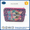 Large Rectangle Large Metal Pencil Case With 2 Zipper