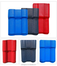 high quality ASA Pvc synthetic resin Terracotta Plastic Spanish style roof tile