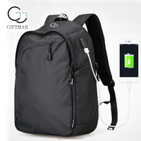 alibaba china new 2017 products safe anti thief backbags backpack, anti-theft USB charging backpack