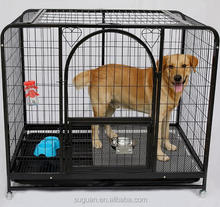 2017 Suguan hot sale stainless foldable large dog cage