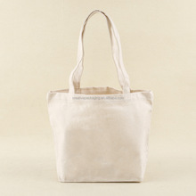 China manufacturer reasonable prices custom blank canvas bag for cloth
