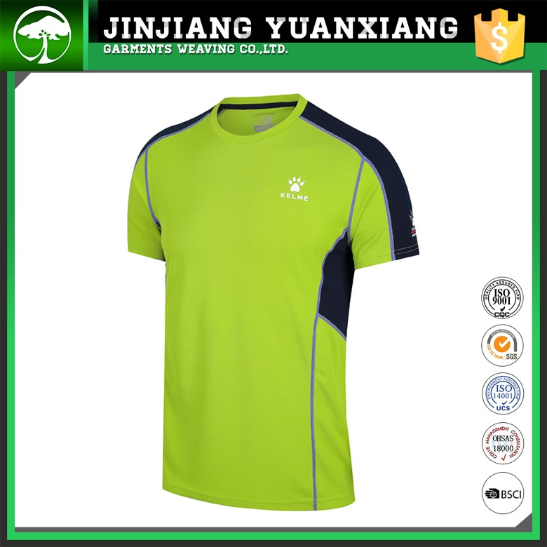 2016 latest sports t shirts designs for men