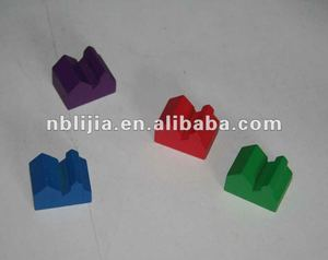 Wooden Houses and Hotel Game Markers