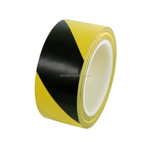 "Black/Yellow Safety Warning Stripe Tape 2"" x 36 Yds PVC Floor Marking Tape"