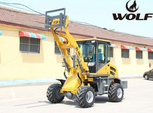 Eacavator moving type wheel loader with quick hitch