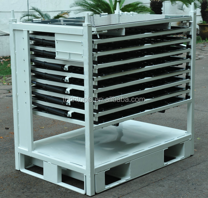 Wholesale Heavy Duty Warehouse Pallet Wheel metal Rack