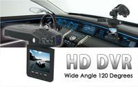 "High Quality H198 Car DVR 2.5"" LCD 6 IR LED Night Vision Car Video Recorder Car Camera Retail Package Wholesale"