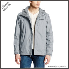 OEM service custom Hot warm winter men's Parka coat and long jacket with hoody