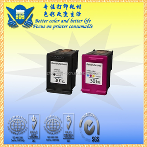 Printer consumables refillable ink cartridge compatible for hp 301