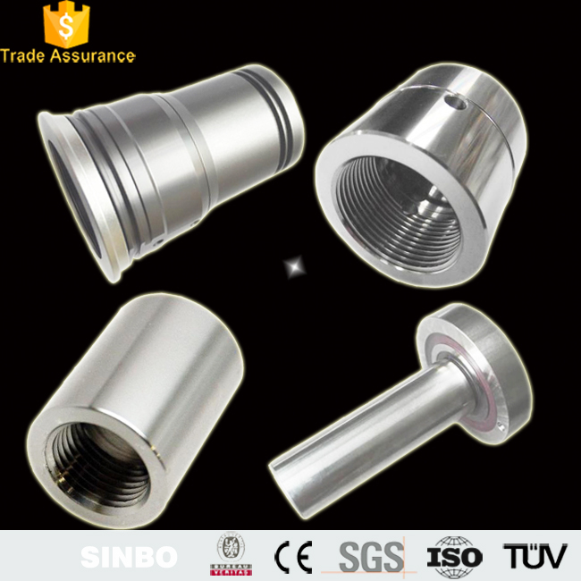 High performance custom made hardened stainless steel sleeve bearing bushings metric threaded bushing suppliers