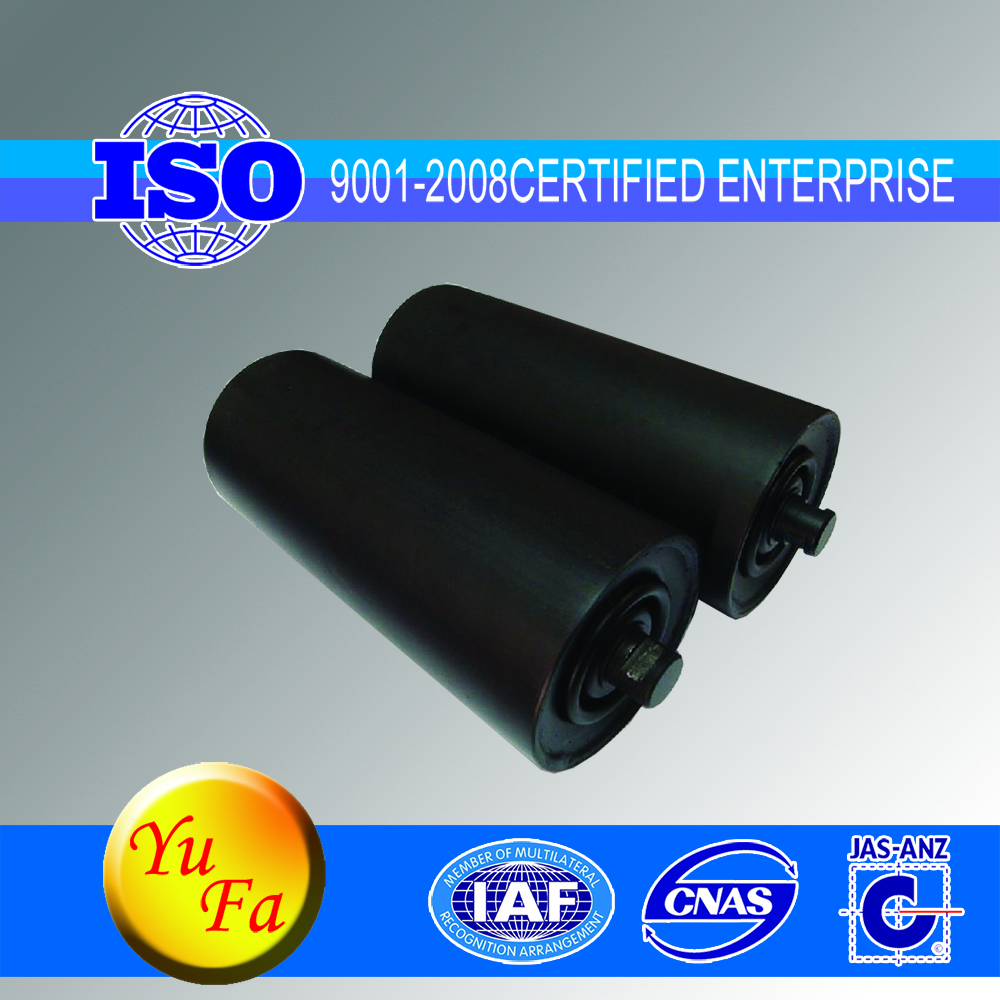 conveyor support impact idler roller