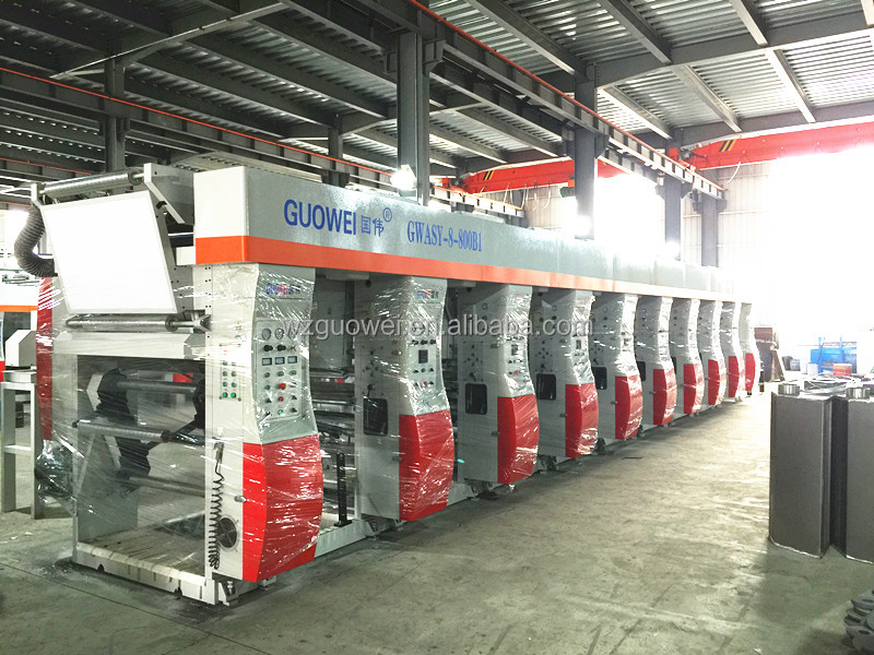 ASY-B1 Automatic Rotogravure Printing Machines for Sale