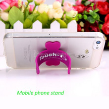 Practical promotional gift One Touch U silicon cell phone holder mobile phone stand